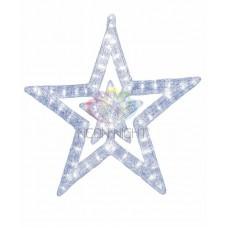 """Акриловая светодиодная фигура """"Звезда"""" 62 см, 63 светодиода, IP44"""