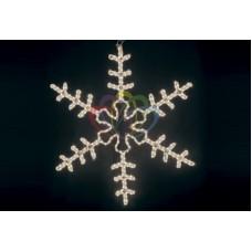 """Фигура """"Большая Снежинка"""" цвет белый, размер 95*95 см"""
