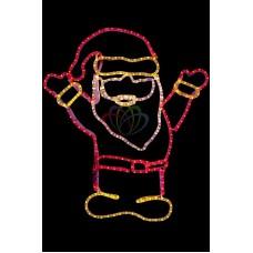 """Фигура """"Дед Мороз Привет!"""", размер 83*69 см"""