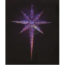"""Фигура SL-DO2-1.5 светодиодная """"3D Звезда 8-и конечная"""" 1.5м синяя"""