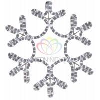 """Фигура """"Снежинка"""" цвет белый, размер 45*38 см"""