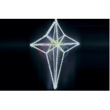 """Фигура светодиодная 3DSL-108 """"3D Звезда Сириус"""", размер 80*60*30 см, БЕЛЫЕ"""