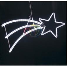 """Фигура светодиодная """"Падающая Звезда"""" цвет белый, 40*80 см"""