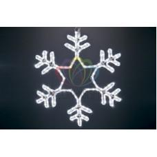 """Фигура световая """"Снежинка"""" цвет белый, без контр. размер 55*55см"""