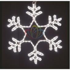 """Фигура световая """"Снежинка"""" цвет белый, размер 55*55 см, мерцающая"""