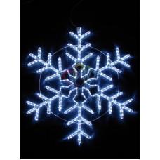 """Фигура световая """"Снежинка"""" цвет белый, размер 95*95 см, мерцающая"""