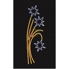 """Фигура световая """"Звездный фейерверк"""" размер 85*175 см"""
