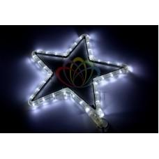 """Фигура световая """"Звездочка LED"""" цвет белый, размер 30*28 см"""
