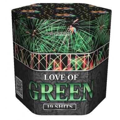 "LOVE OF GREEN, 1,2""/19 залпов, 3 эффекта SB-19-03*"