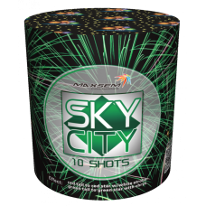 "SKY CITY, 0,8""/10 залпов, 3 эффекта GW218-97"