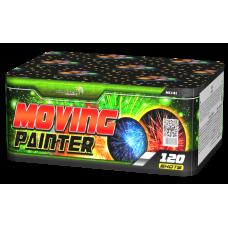 MOVING PAINTER, 0,8''/120 залпов, 8 эффектов + ВЕЕР МС141