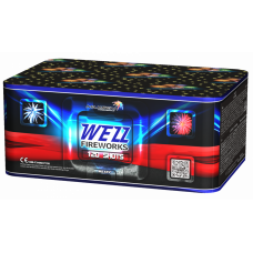 WEZZ FIREWORKS, 0,8''/120 залпов, 8 эффектов + ВЕЕР МС127