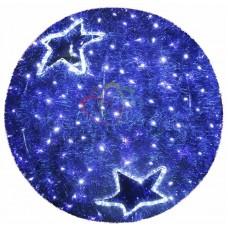 """Фигура """"Шар"""", LED подсветка диам. 120см, синий"""