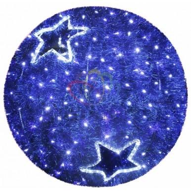 Фигура Шар, LED подсветка диам. 120см, синий,NEON NIGHT