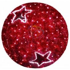 """Фигура """"Шар"""", LED подсветка диам. 80см, красный"""