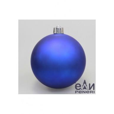 Набор шаров 10см синий, матовый