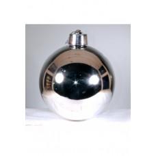Шар д.120 серебро, глянец